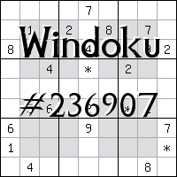 Виндоку №236907