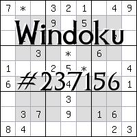 Виндоку №237156