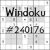 Виндоку №240176