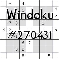 Виндоку №270431