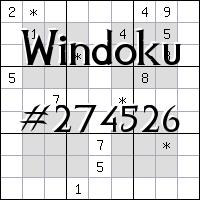 Виндоку №274526
