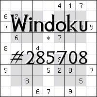 Виндоку №285708