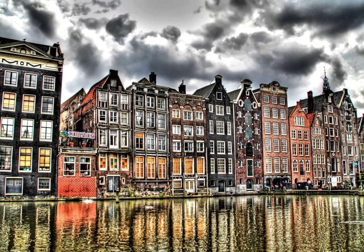 Пазл Собирать пазлы онлайн - Амстердам Нидерлады