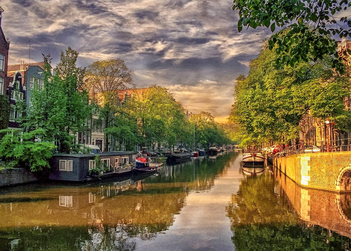 Пазл Собирать пазлы онлайн - Амстердам Нидерланды