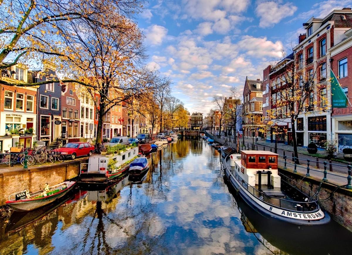 Пазл Амстердам Нидерланды
