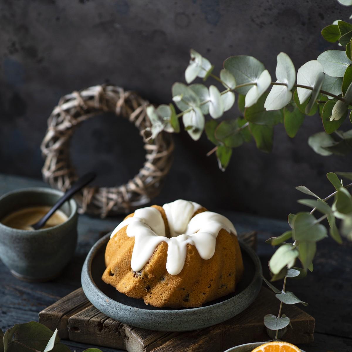 Пазл Собирать пазлы онлайн - Апельсиновый кекс