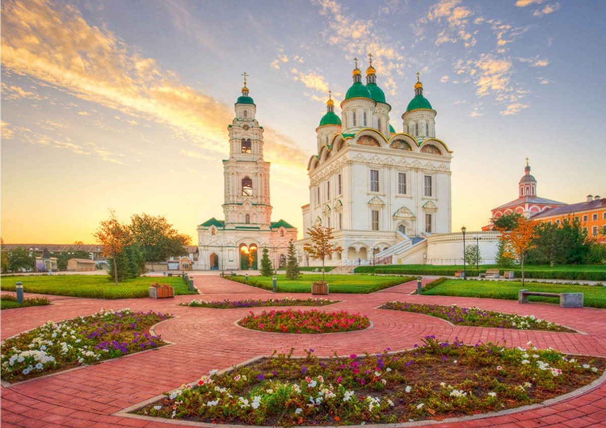 Пазл Собирать пазлы онлайн - Астраханский Кремль