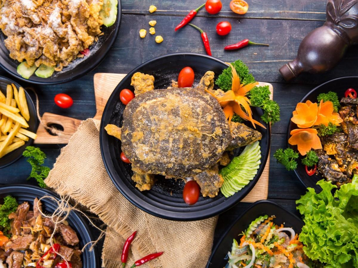 Пазл Собирать пазлы онлайн - Азиатская кухня