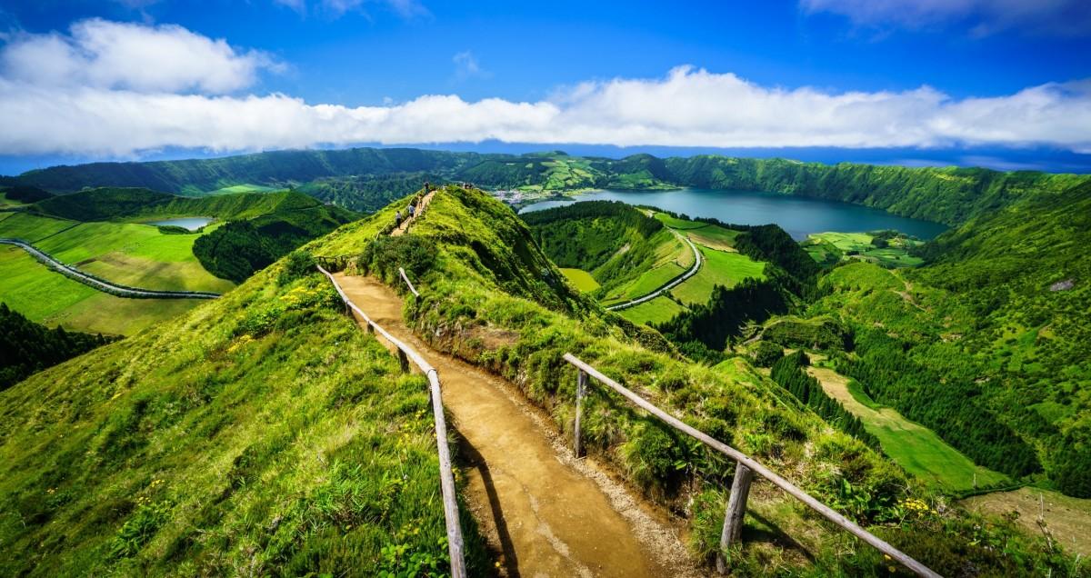 Пазл Собирать пазлы онлайн - Азорские острова