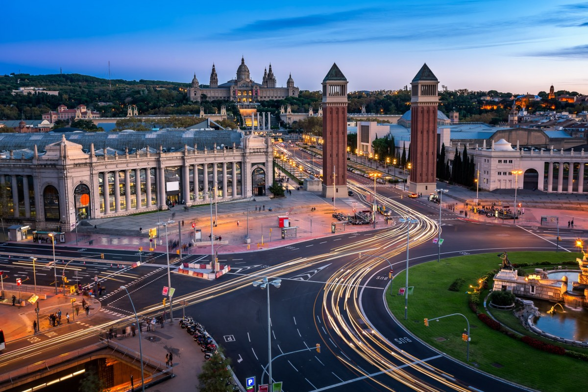 Пазл Собирать пазлы онлайн - Барселона. Испания
