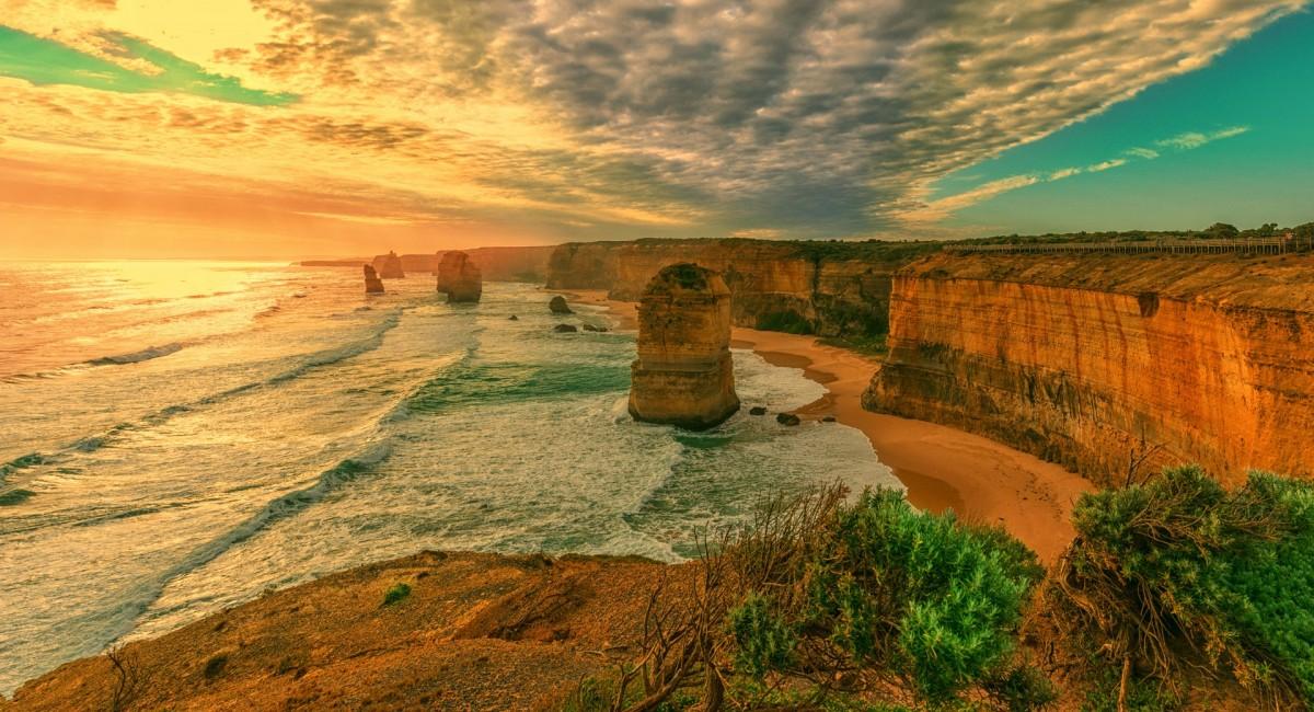 Пазл Собирать пазлы онлайн - Берег Австралии