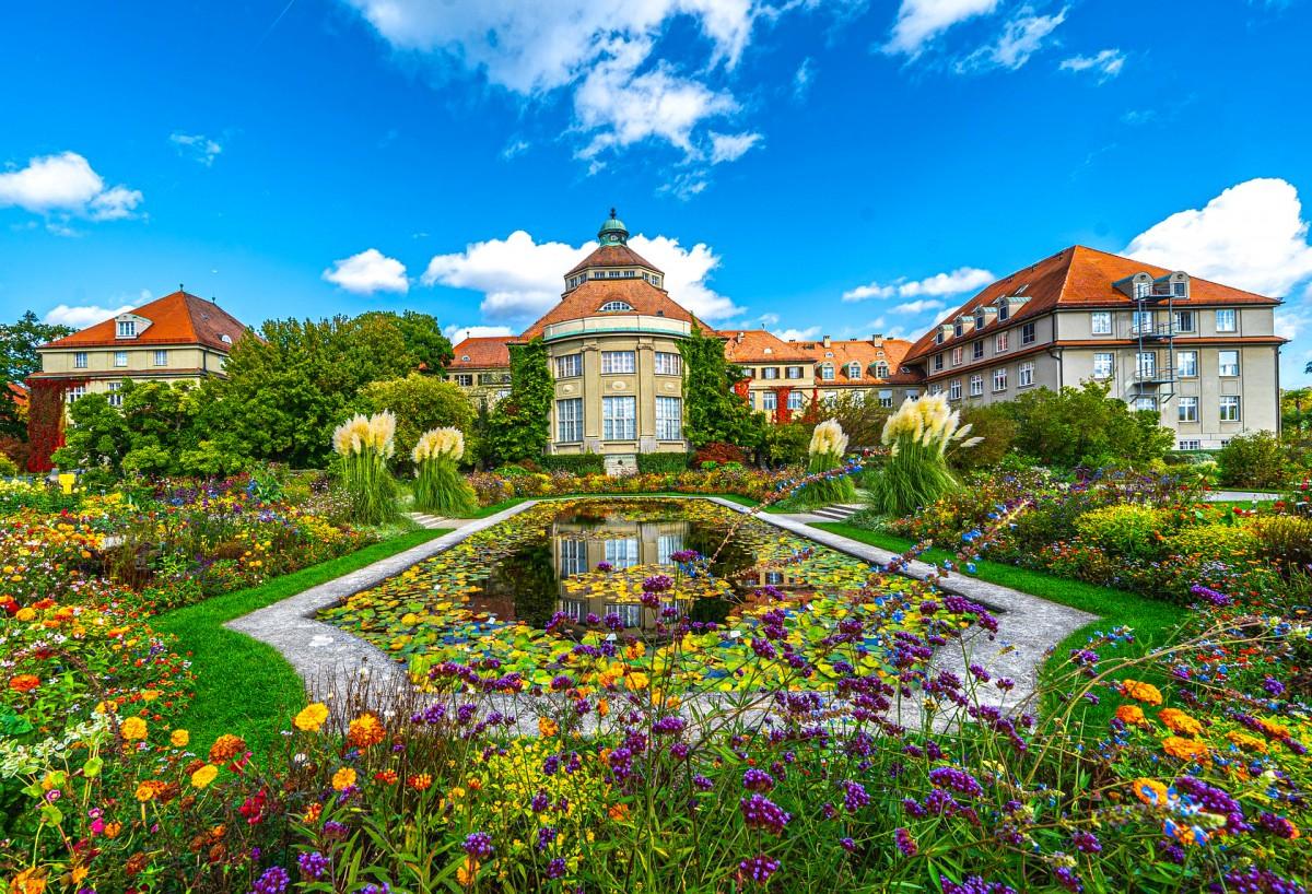 Пазл Собирать пазлы онлайн - Ботанический сад