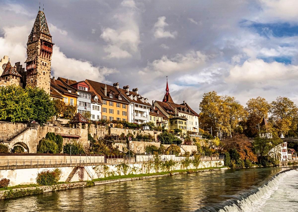 Пазл Собирать пазлы онлайн - Бремгартен Швейцария