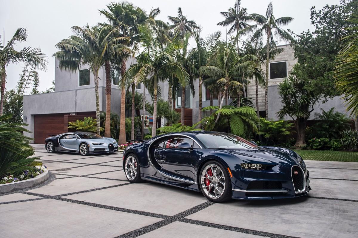 Пазл Собирать пазлы онлайн - Bugatti Chiron