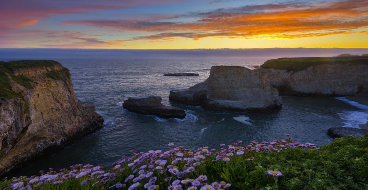 Пазл Собирать пазлы онлайн - Бухта в Калифорнии