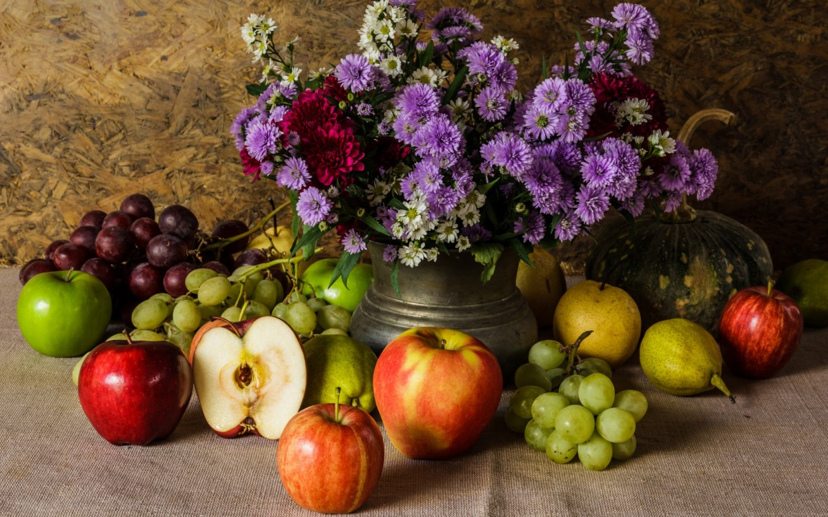 Пазл Собирать пазлы онлайн - Букет хризантем