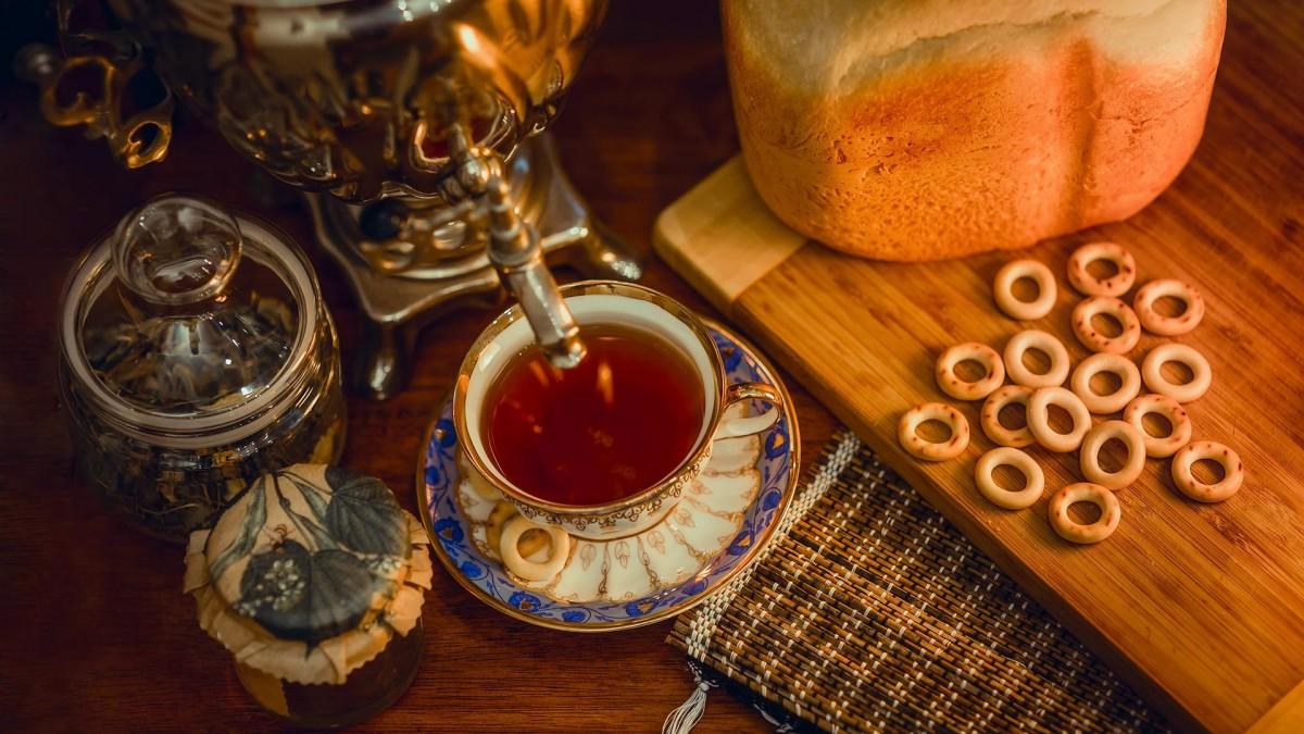 Пазл Чай из самовара