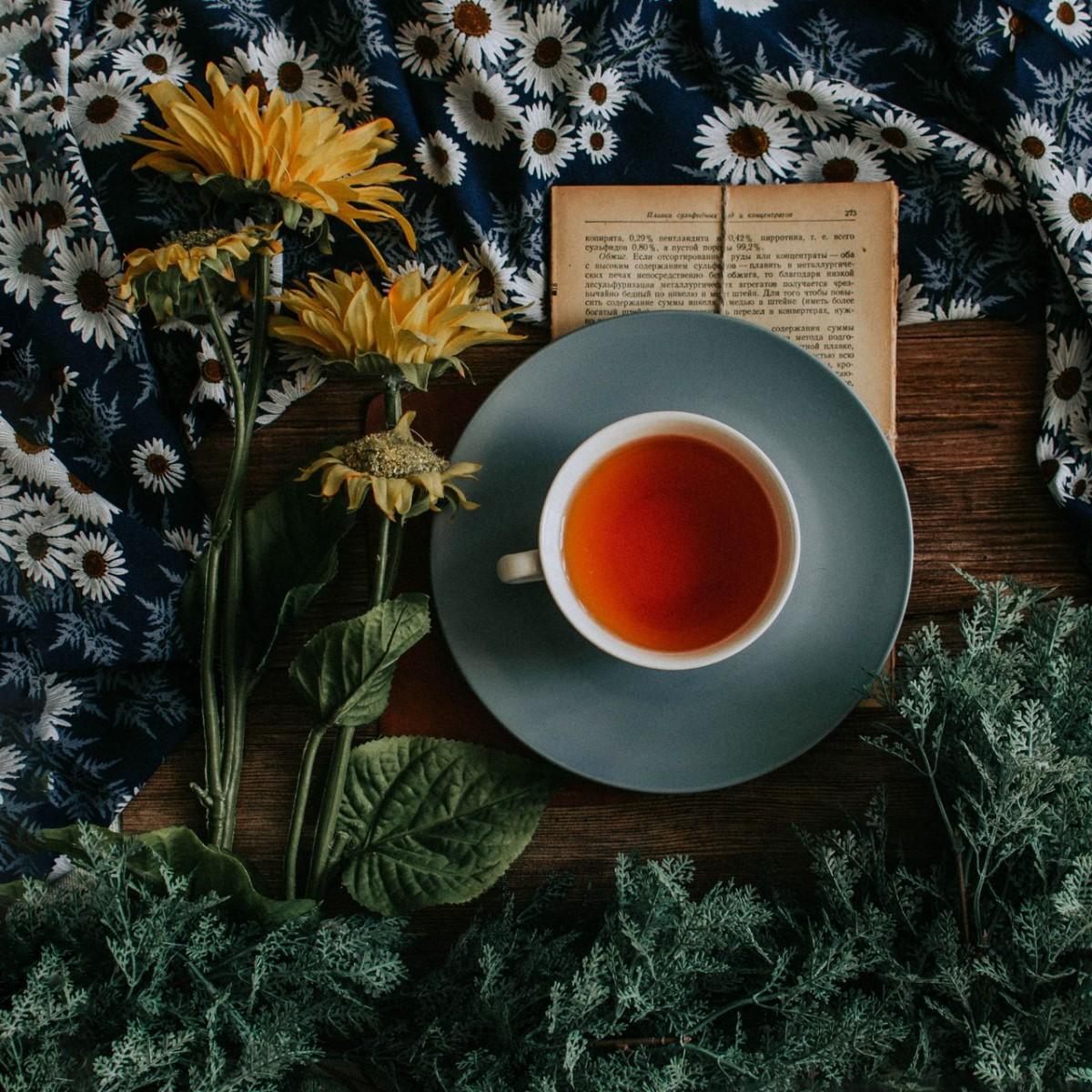Пазл Собирать пазлы онлайн - Чашка чая