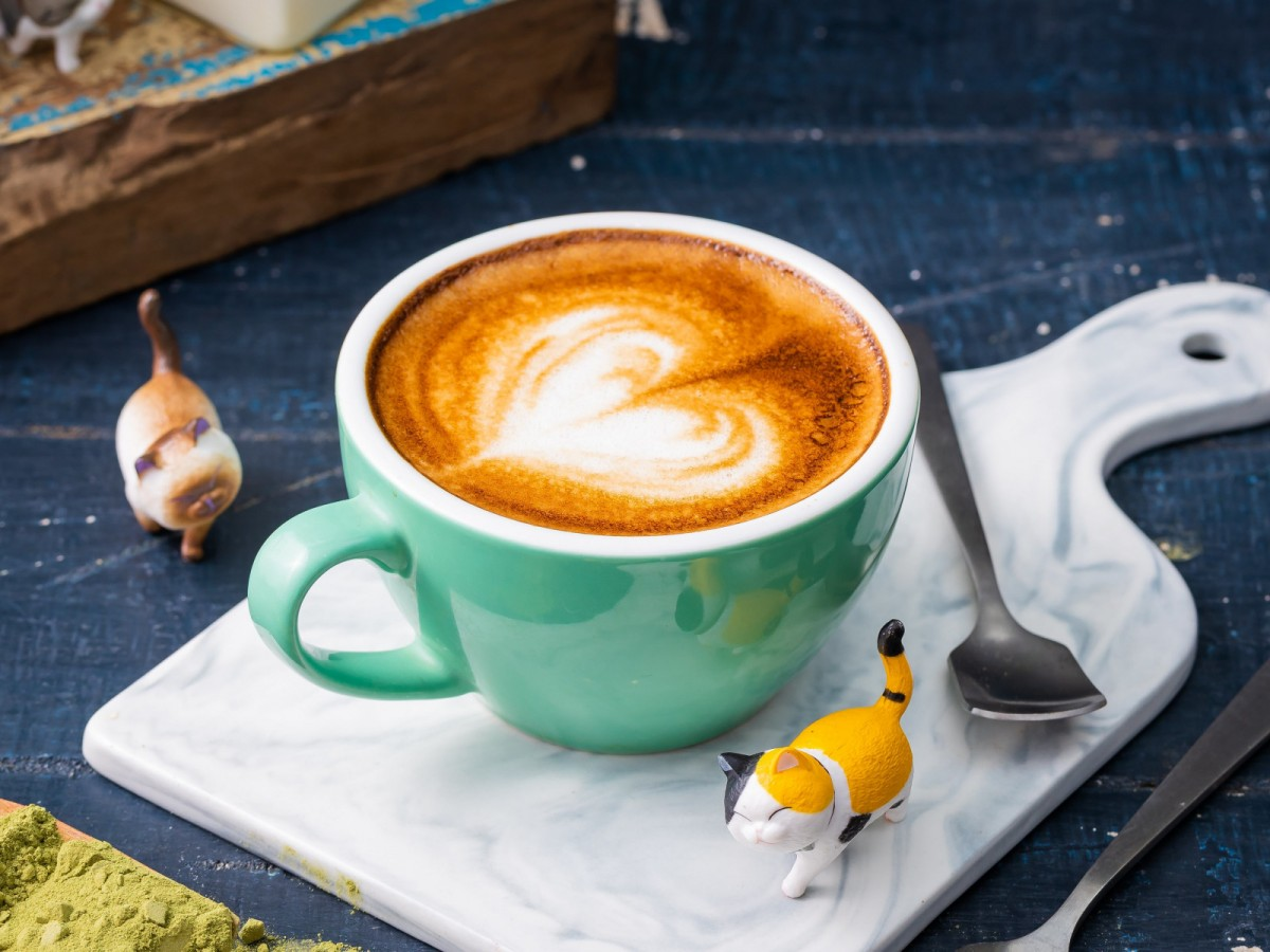 Пазл Собирать пазлы онлайн - Чашка кофе