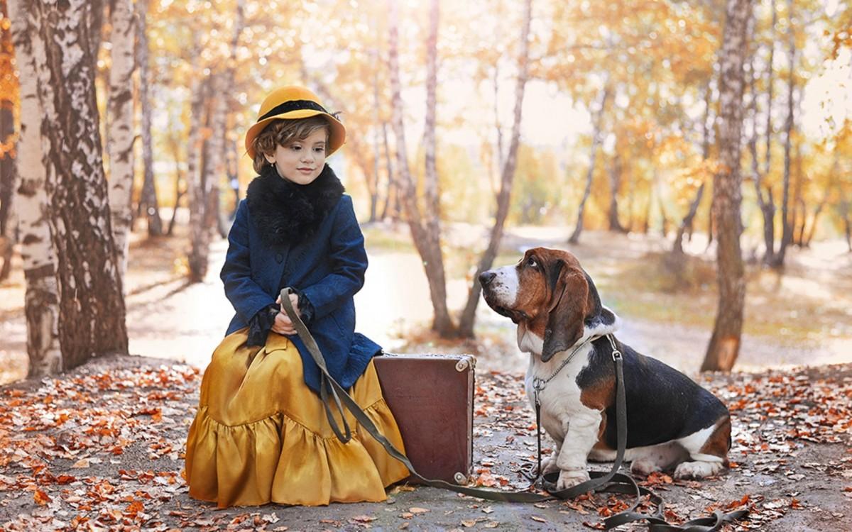 Пазл Собирать пазлы онлайн - Дама с собачкой