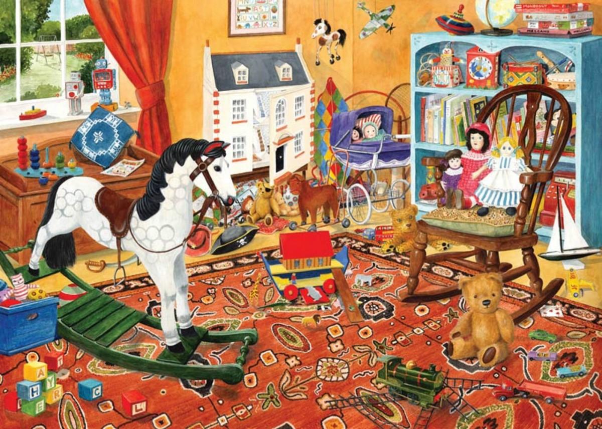 Пазл Собирать пазлы онлайн - Детская комната