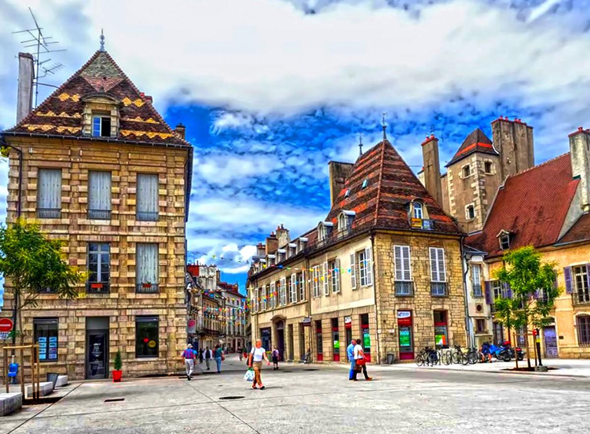Пазл Собирать пазлы онлайн - Дижон Франция