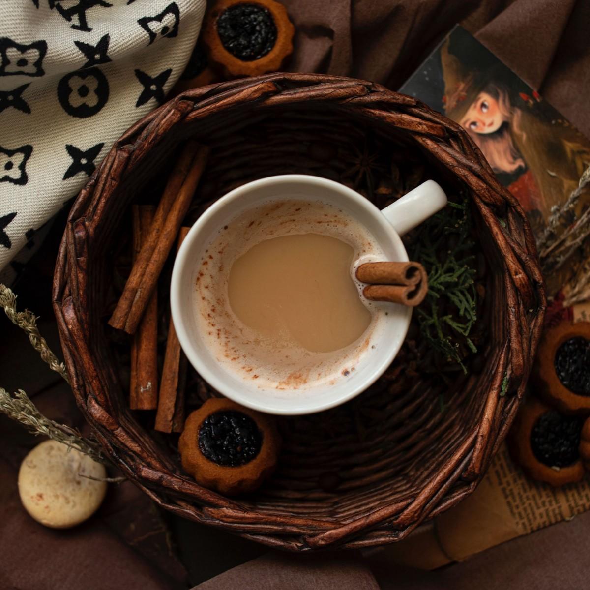 Пазл Собирать пазлы онлайн - Дневной кофе
