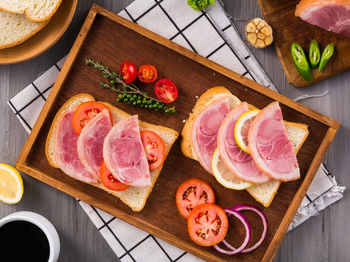 Пазл Собирать пазлы онлайн - Два бутерброда