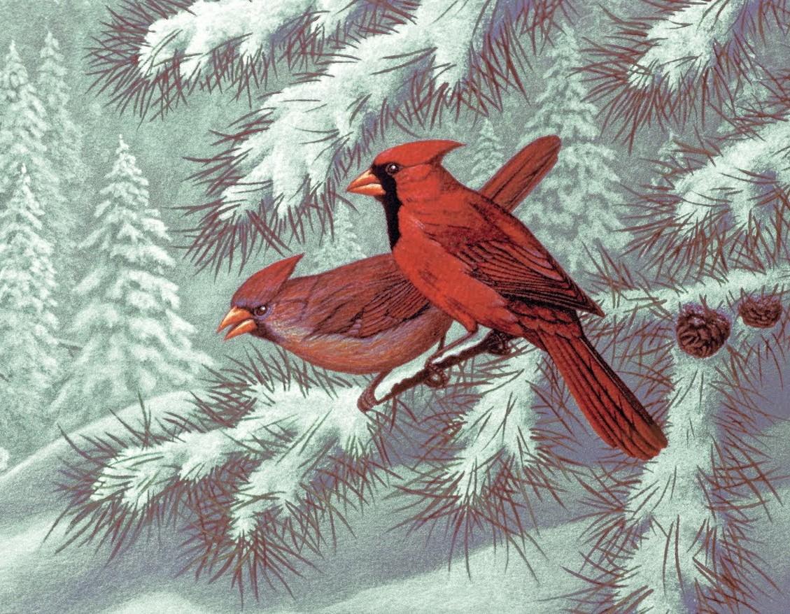 Пазл Собирать пазлы онлайн - Два кардинала