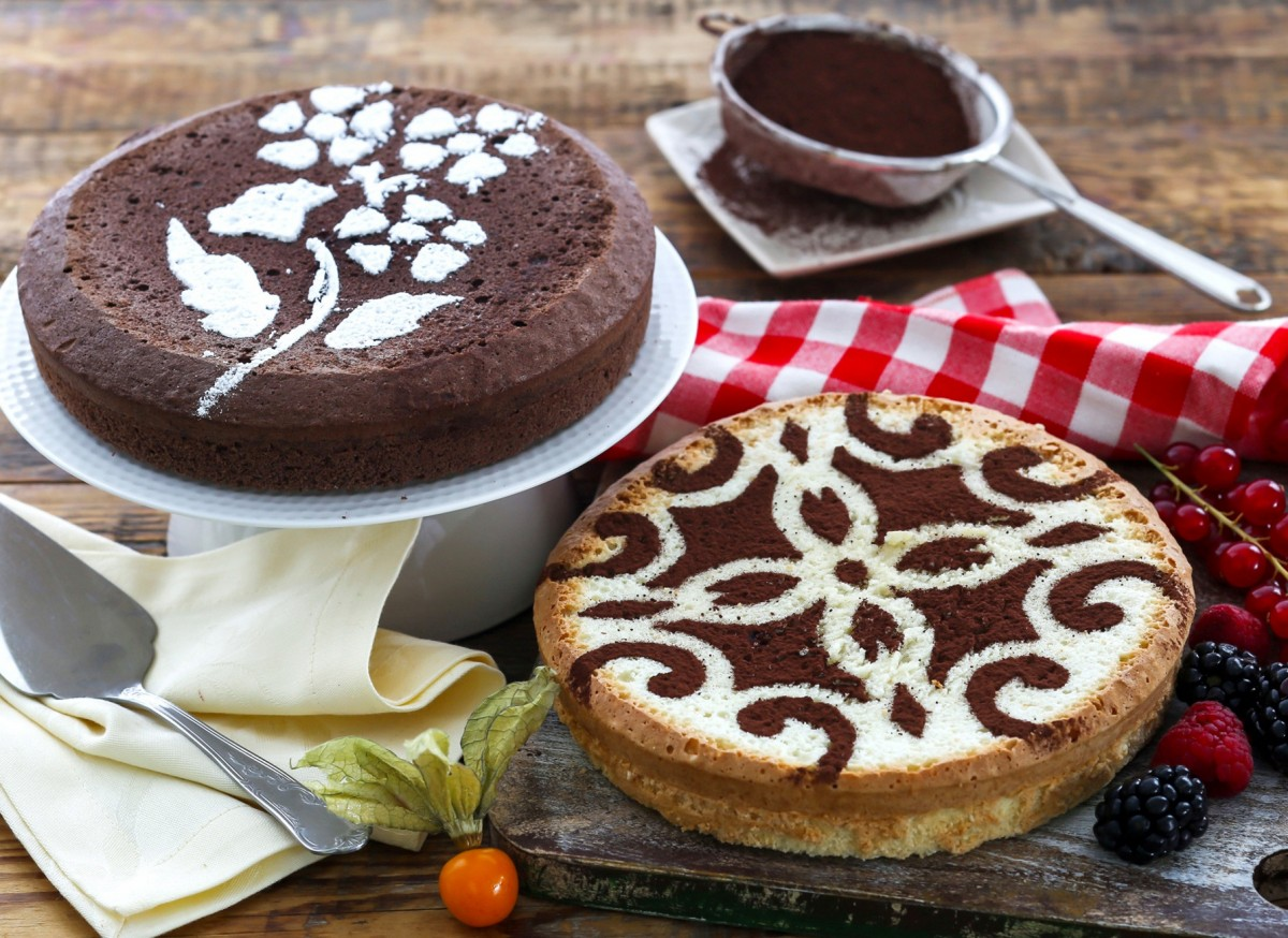 Пазл Собирать пазлы онлайн - Два торта