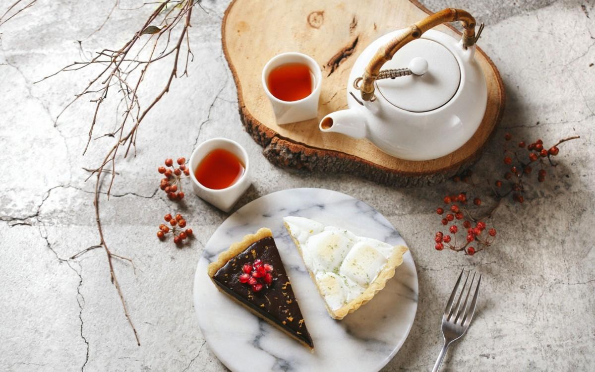 Пазл Собирать пазлы онлайн - Две чашки чая