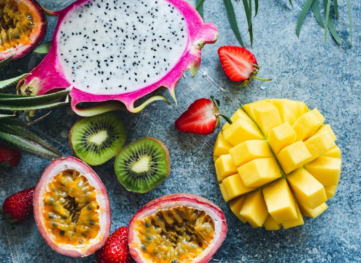 Пазл Собирать пазлы онлайн - Экзотические фрукты