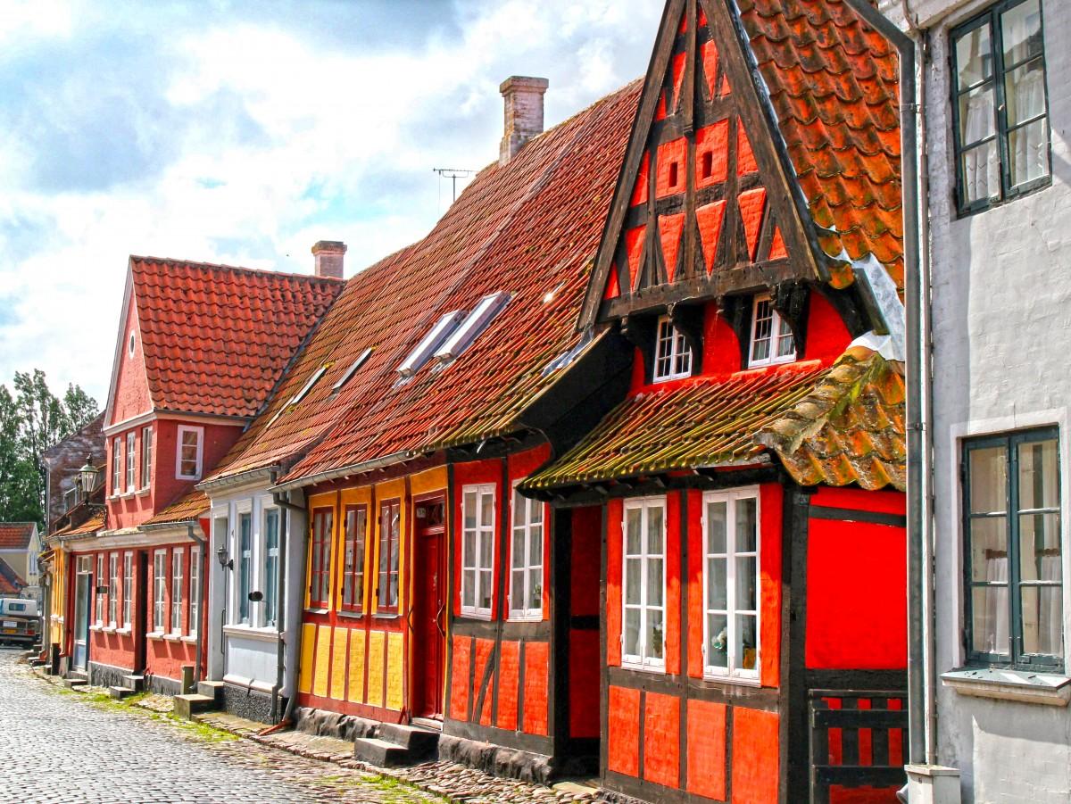 Пазл Собирать пазлы онлайн - Эрёскёбинг Дания