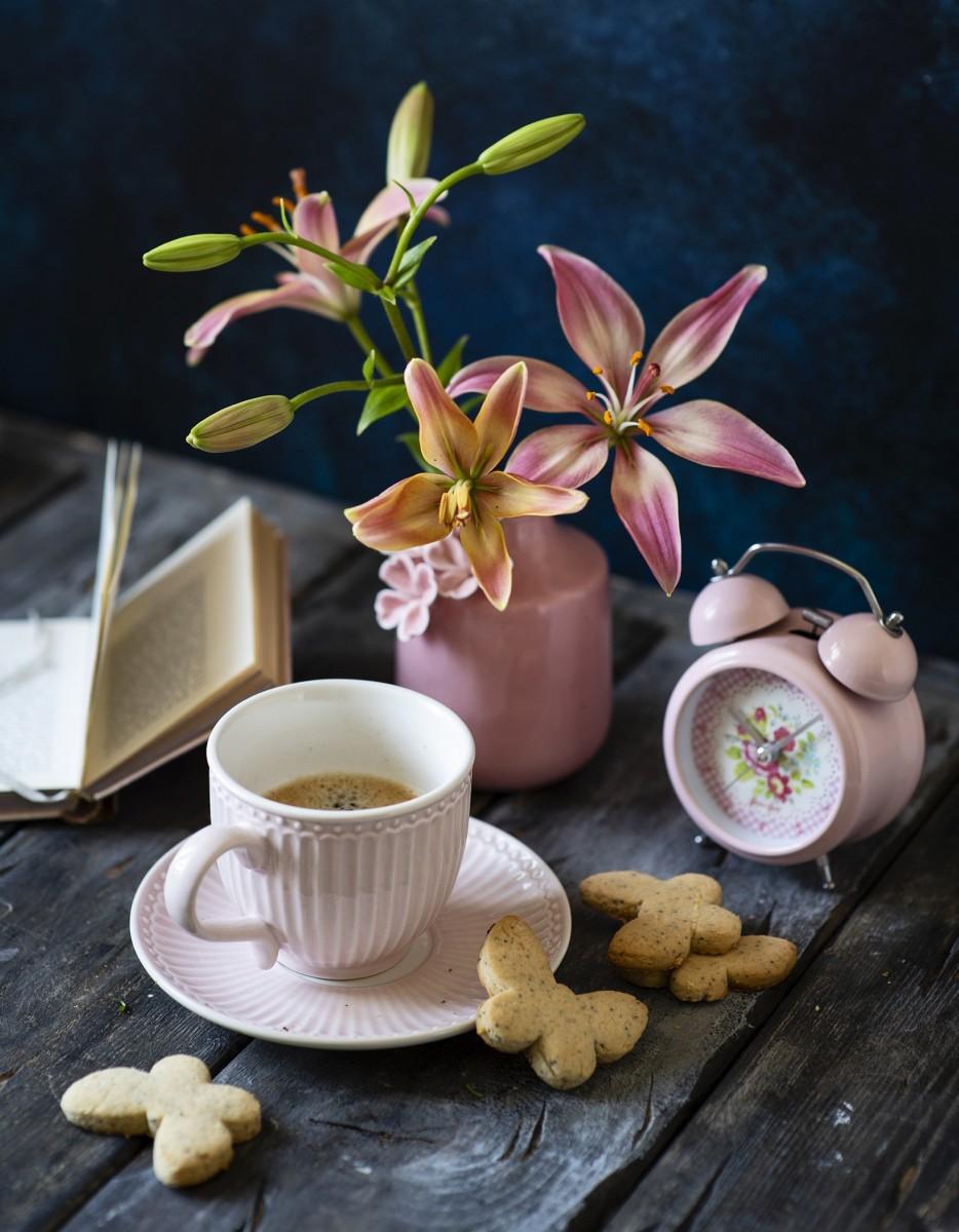Пазл Собирать пазлы онлайн - Эспрессо с бабочками