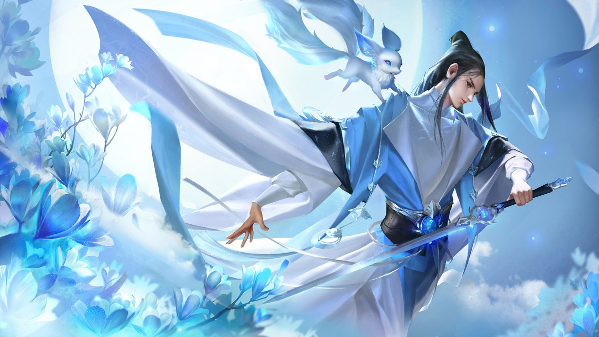 Пазл Собирать пазлы онлайн - Fate Of Swordsman