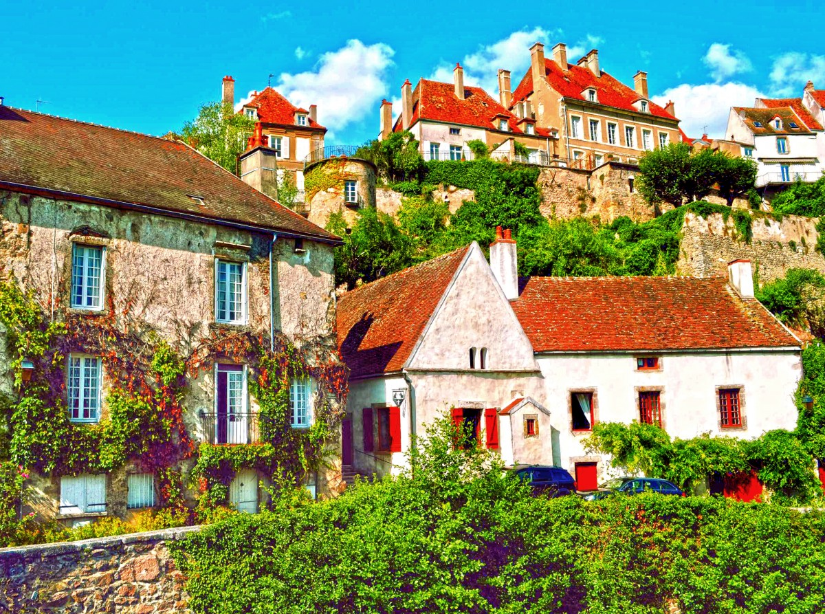 Пазл Собирать пазлы онлайн - Флавиньи Франция
