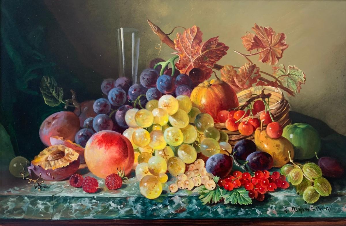 Пазл Собирать пазлы онлайн - Fruit still life