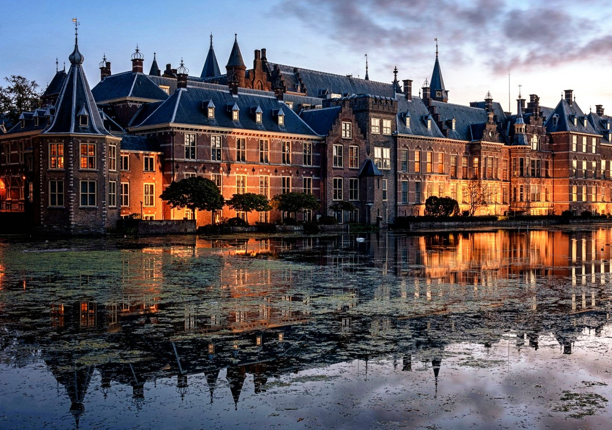 Пазл Собирать пазлы онлайн - Гаага Нидерланды