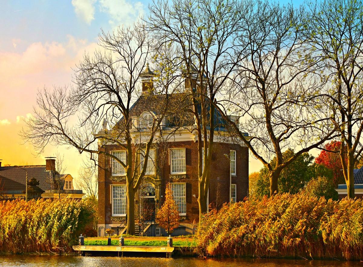 Пазл Собирать пазлы онлайн - Голландский дом