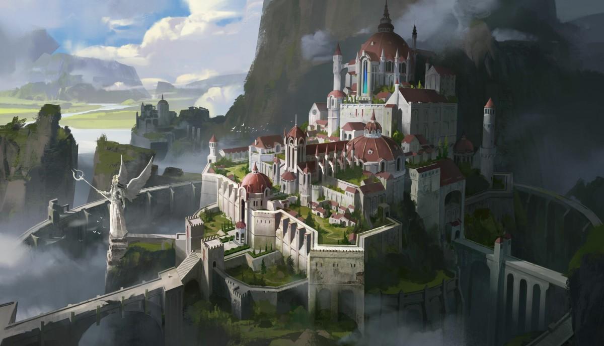 Пазл Собирать пазлы онлайн - Город-крепость