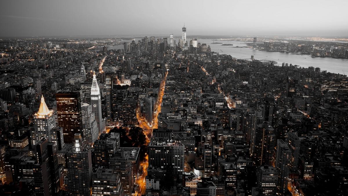Пазл Собирать пазлы онлайн - Город сверху