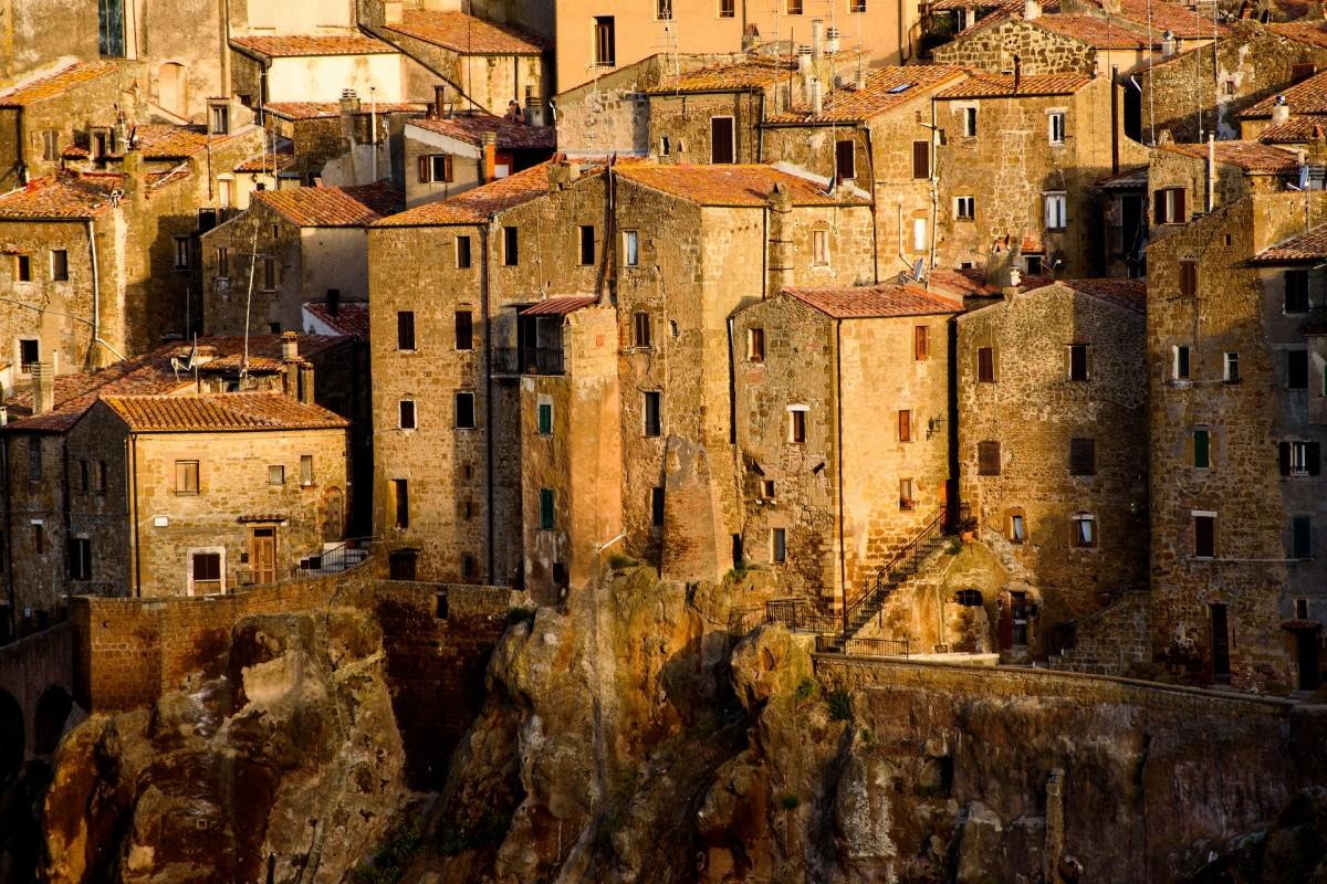 Пазл Город в Тоскане
