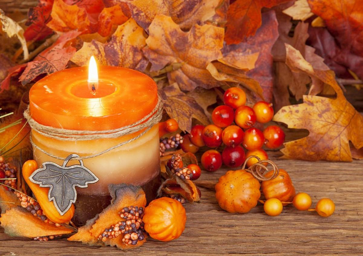 Пазл Собирать пазлы онлайн - Горящая свеча