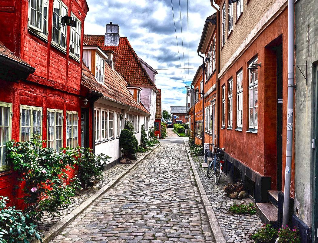 Пазл Собирать пазлы онлайн - Хельсингер Дания