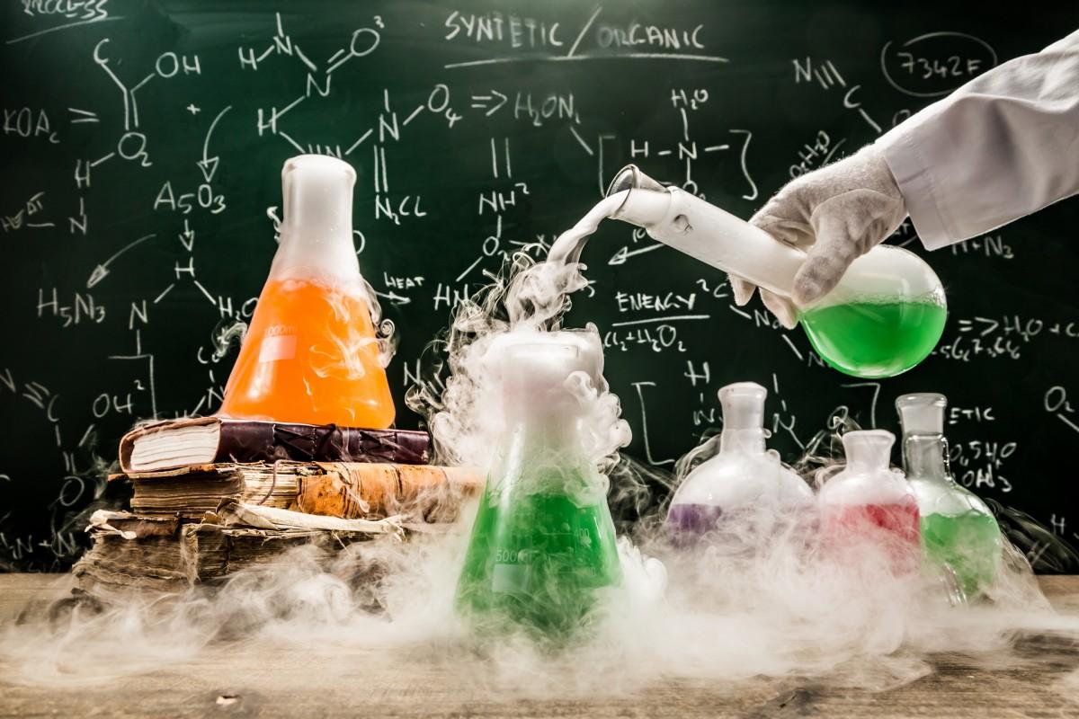 Пазл Собирать пазлы онлайн - Химия