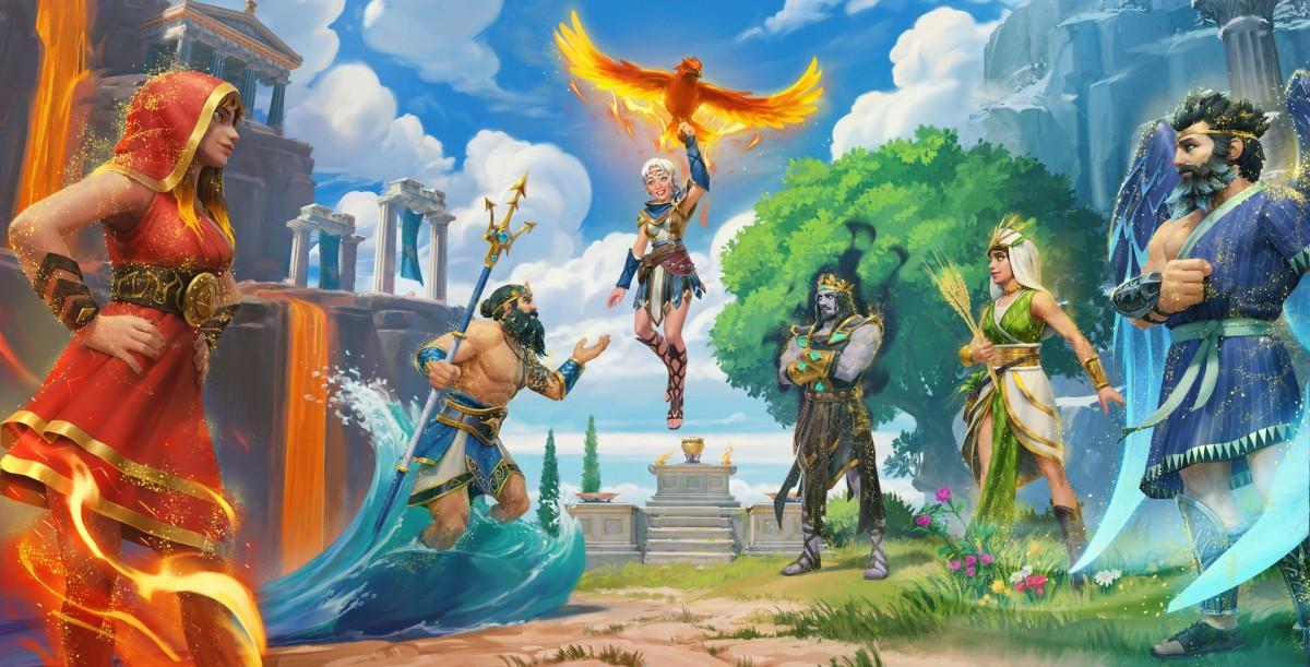 Пазл Собирать пазлы онлайн - Immortals Rising