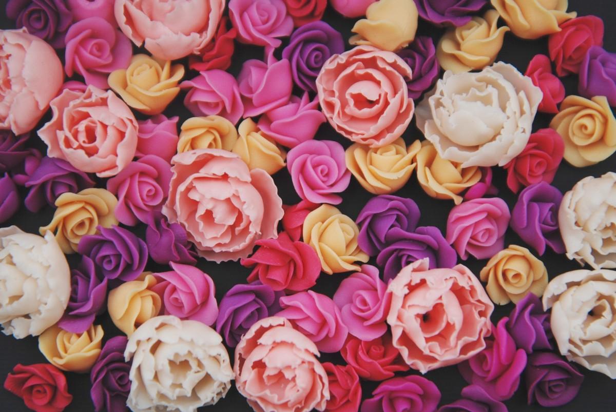 Пазл Собирать пазлы онлайн - Искусственные розы