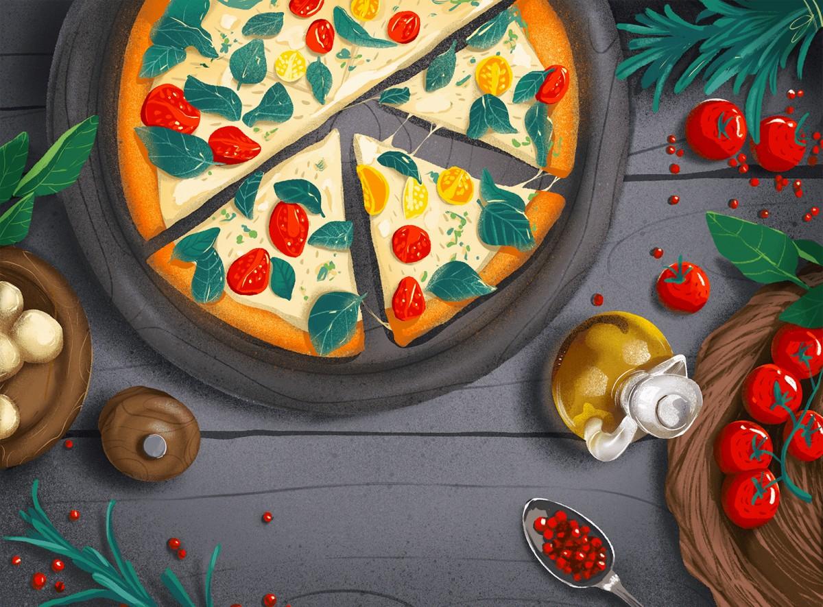 Пазл Собирать пазлы онлайн - Итальянская пицца