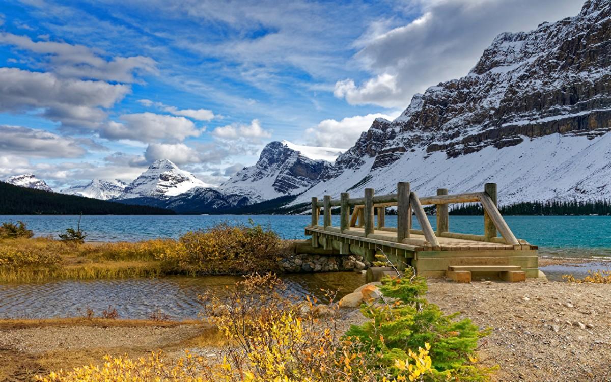 Пазл Собирать пазлы онлайн - Канадские берега