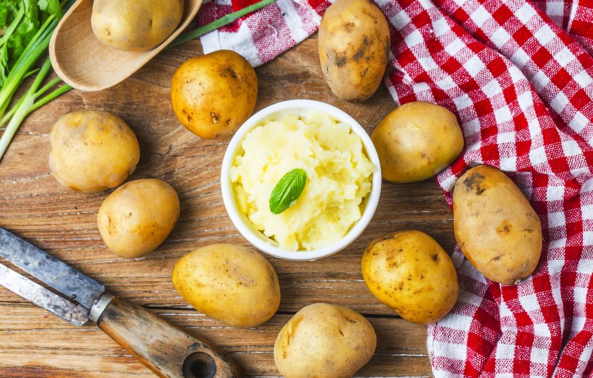 Пазл Собирать пазлы онлайн - Картошка